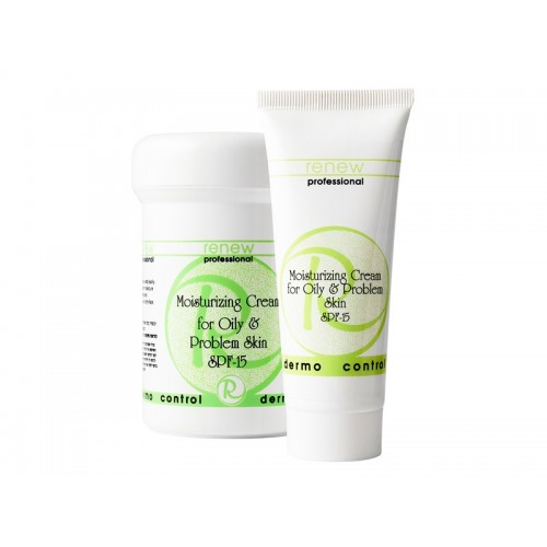 Dermo countrol Moistuiruzing Cream for Oily & Problem Skin SPF 15