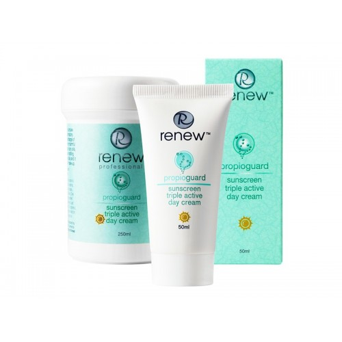 Sunscreen Triple Active Day cream