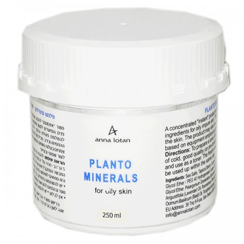 Planto Minerals for Oily Skin
