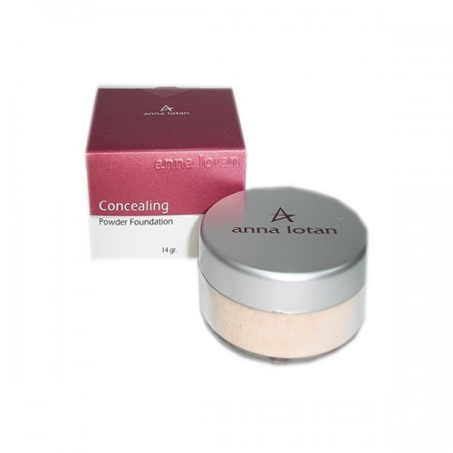 Пудра камуфляжная SPF-17 - Anna Lotan - Make up Concealing Powder Foundation SPF 17