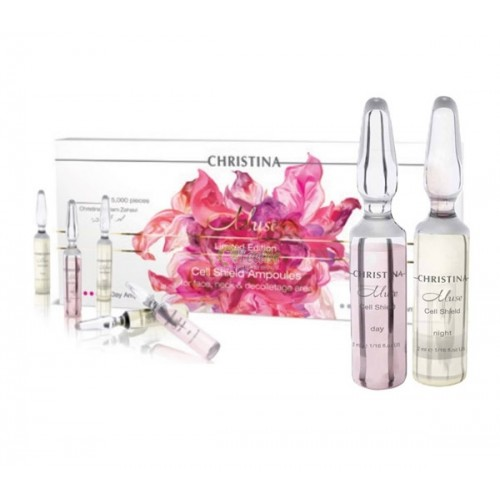 Ампулы для восстановления кожи - Christina - Muse  Cell Shield Ampoules Kit