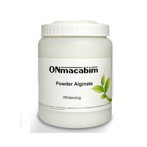 "Альгинатная маска-красоты ""Жемчужная"" - OnMacabim - Algae mask  brightening"