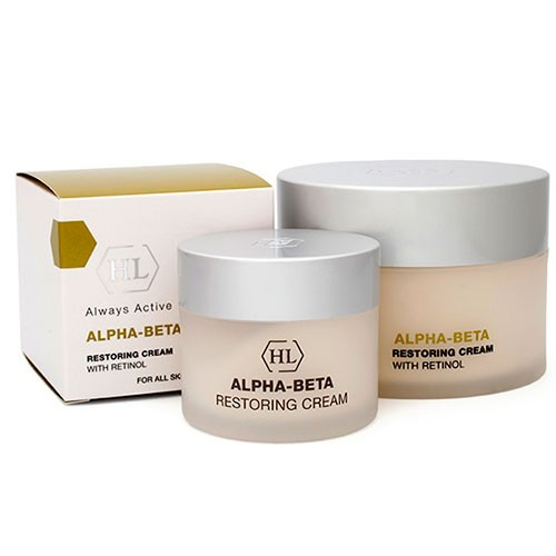Крем для лица ночной - Holy Land - Alpha-Beta Retinol Restoring  Cream