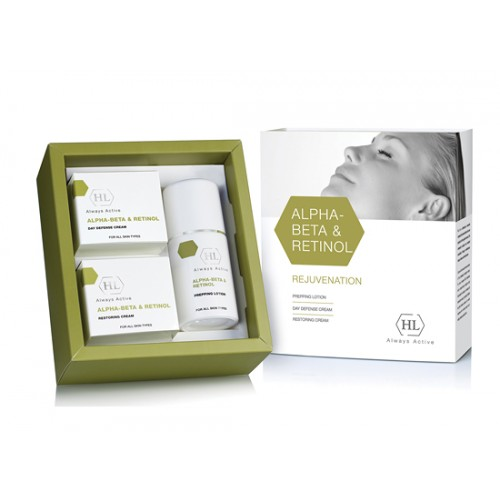 Alpha-Beta Retinol set (lotion, cream day and night)