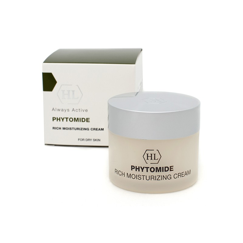 Увлажняющий крем для лица - Holy Land - Phytomide Rich Moisturizing Cream SPF 12