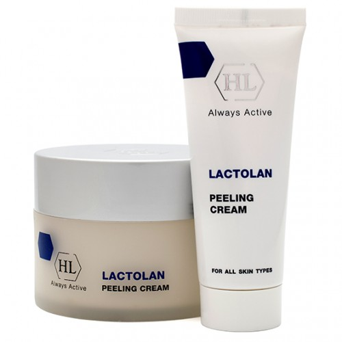 Пилинг крем для лица - Holy land - Lactolan Peeling Cream