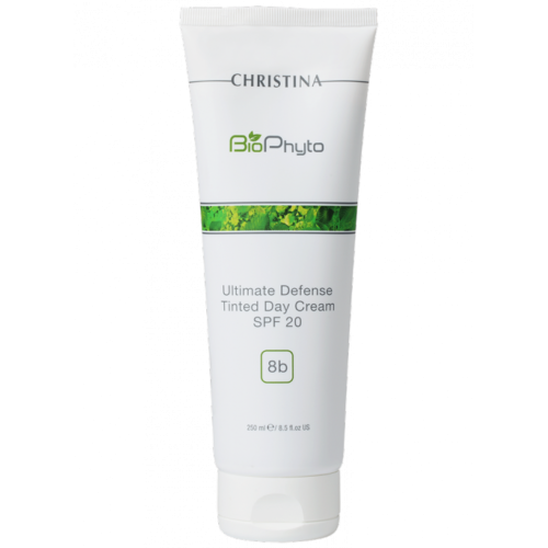 Шаг-8b Крем с тоном СПФ-20 - Christina - Bio Phyto 8b Ultimate Defense Tinted Day Cream SPF