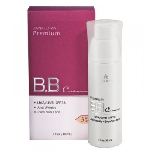 Премиум ББ крем с SPF-36 - Anna Lotan - Make up BB-cream