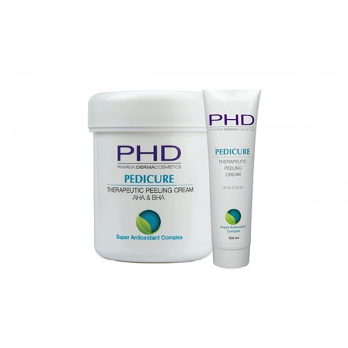 Pedicure Therapeutic Cream Peeling AHA&BHA