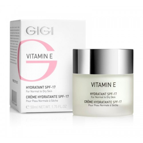 Vitamin E Moisturizer for dry skin SPF
